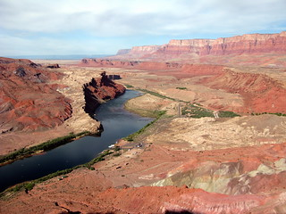 View from Spencer Trail of Lee's Ferry and the Vermilion Cliffs | by Al_HikesAZ