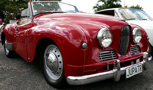 Red Jowett Jupiter | by Jaime Carter