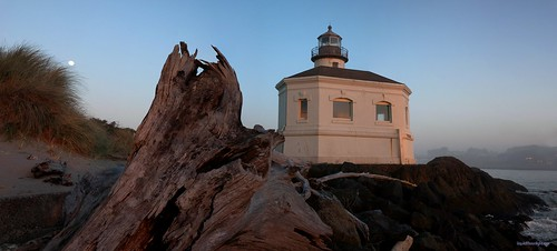 HUGE Panorama - Lighthouse - Coquille Lighthouse | by Darvin Atkeson