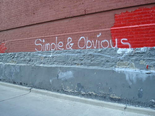 Simple & Obvious | by emmajanehw