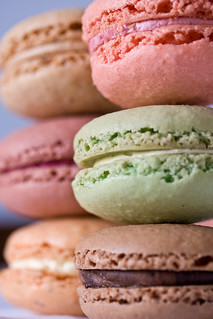 Multi-flavored Macaroons | by sfophoto