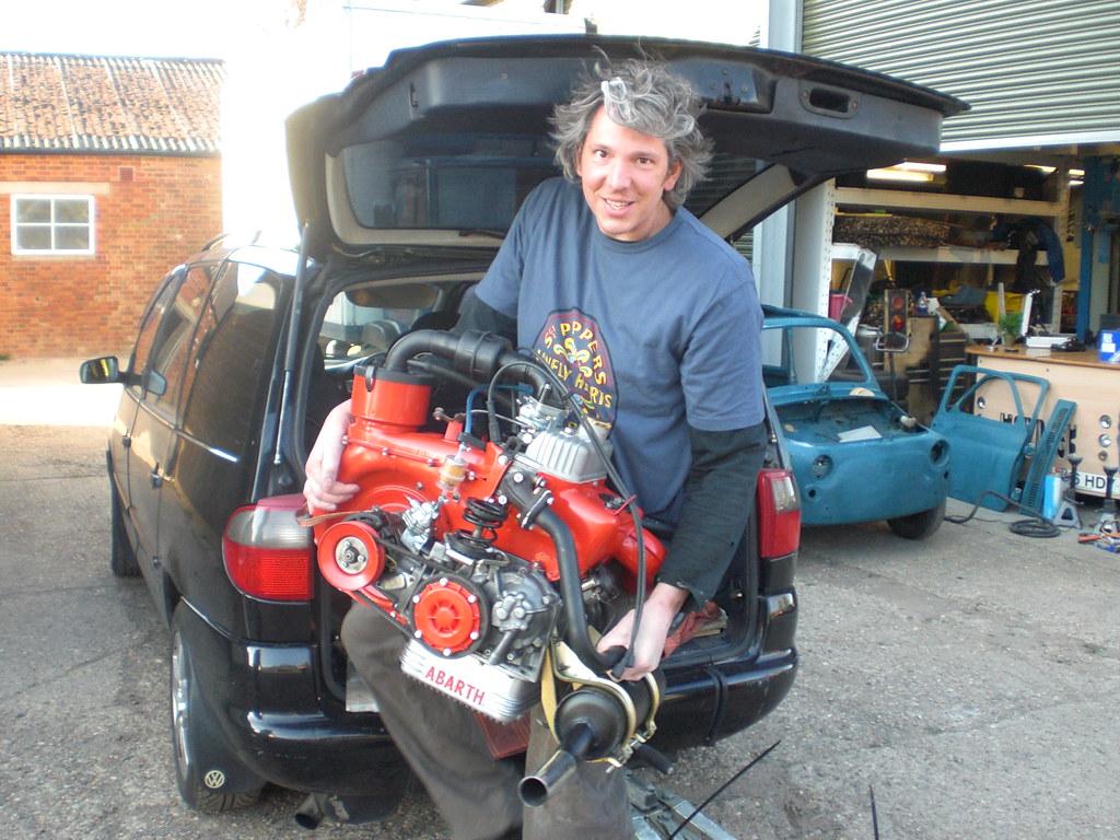 Fiat 500 650 Cc Engine And Synchro Transmission Flickr