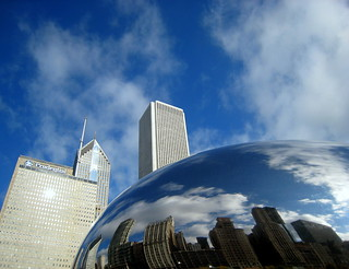 Chicago Bean in the Clouds | by swisscan