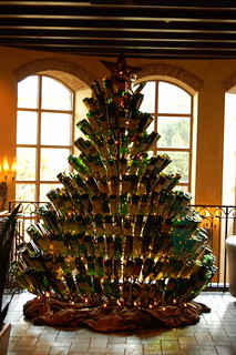 Wine Bottle Christmas Tree - Gaylord Texan Resort | by bmarsh011