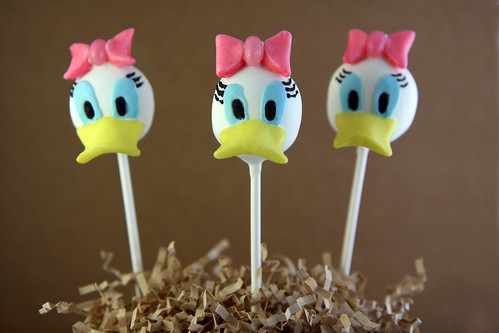 Mickey Mouse Clubhouse Cake Pops 3 | by itskrisbitch