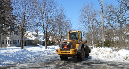 Truch clearing snow | by :: Wendy ::