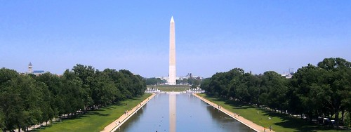 Washington Monument view from Lincoln Memorial | by NCinDC