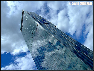 Glass Architecture in the Blue Sky of Beetham Tower | by davidgutierrez.co.uk