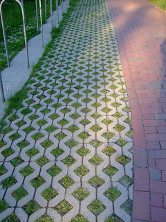 Green paver idea... | by HouseObsession