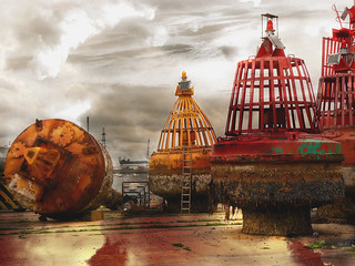 Beached Buoys (2) | by por2able