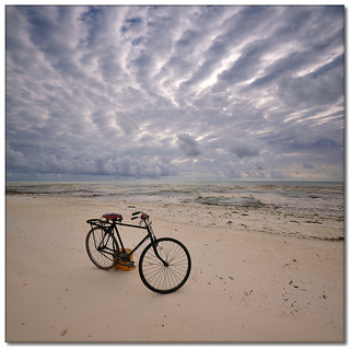 Zanzibar Beach Bicycle (Vertorama) | by Panorama Paul