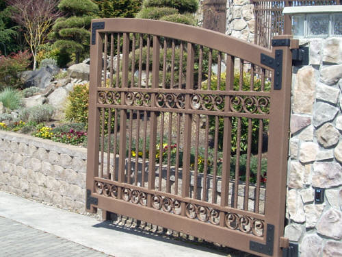... Aluminum Driveway Gate | by Heritage Iron MN