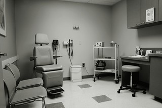 Room in a radiation oncology center | by Veee Man