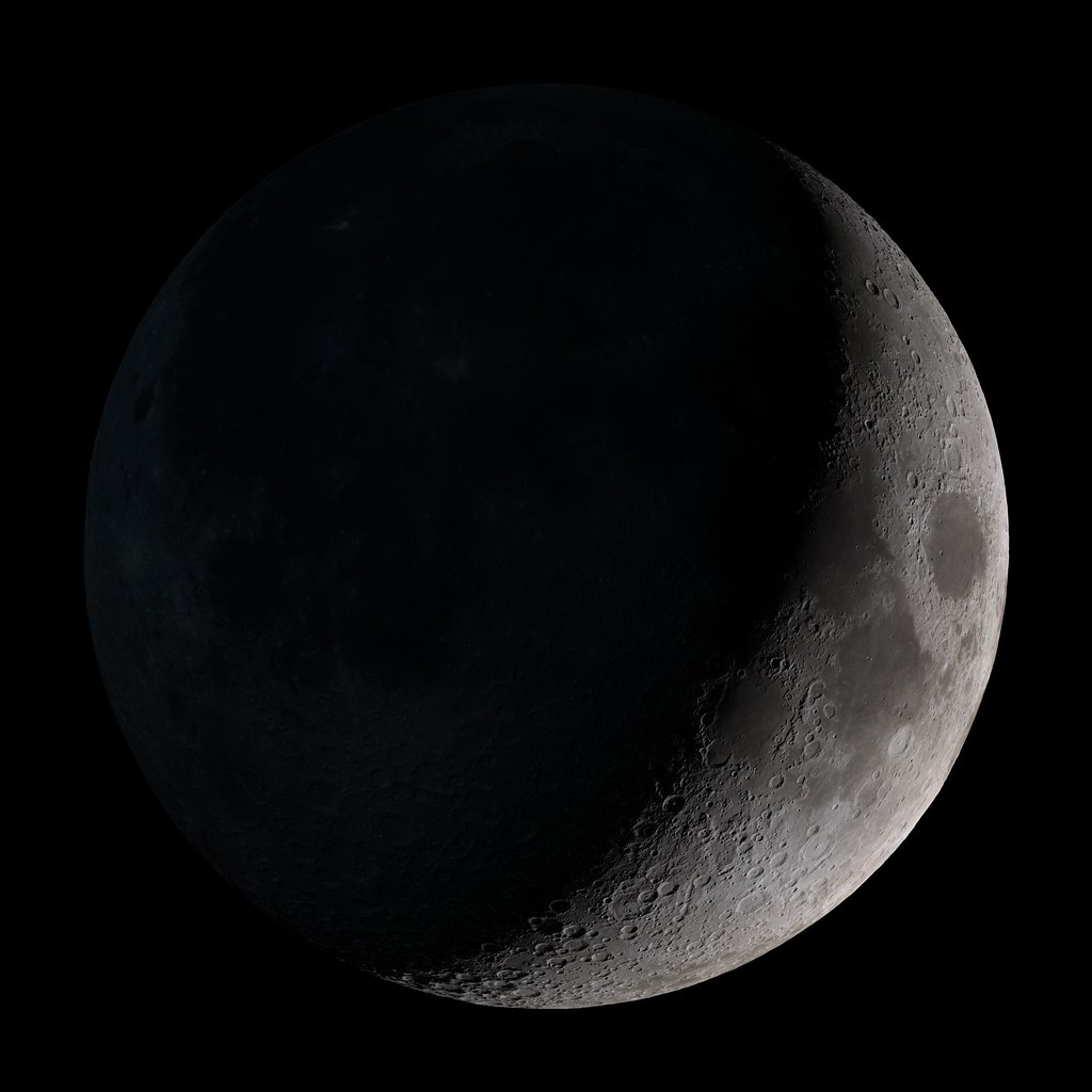 ... Waxing crescent | by NASA Goddard Photo and Video