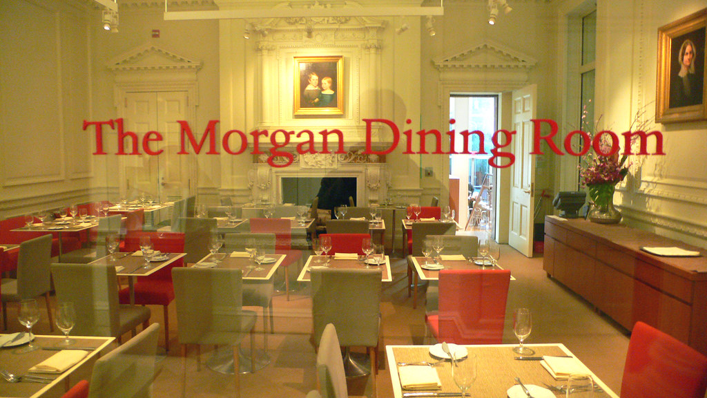 Attrayant ... The Morgan Dining Room@The Pierpont Morgan Library Museum | By Kenzo*