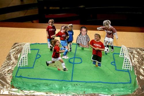 Spring 2008 Soccer Team Party Cake | by CandyTX