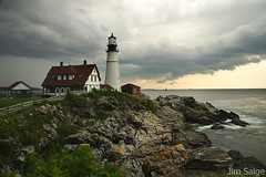 Lighthouse Clouds... | by Jim Salge