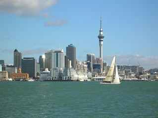 Auckland City from the ferry. | by Lynda W1