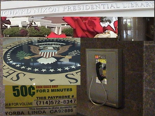 714-572-8347 Payphone Montage, Richard M. Nixon Presidential Library and Birthplace, Yorba Linda, California dsc08694a | by Dr. Disney Wizard