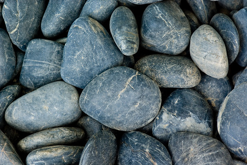 Smooth Rounded Grey Stones | by Craig Jewell Photography