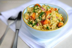 Cous Cous & Pumpkin Salad | by tim.grainger
