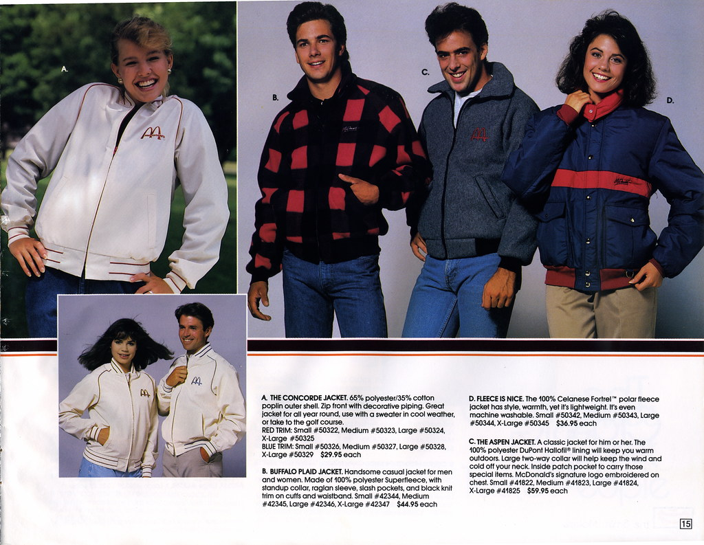 34b2ede7f ... McDonald's - The Smile Makers 88 - Employee Fashion Catalog Page 015 |  by JasonLiebig