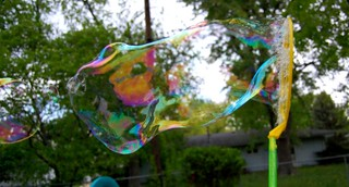 Now that's a bubble if I've ever seen one! | by they call me mom