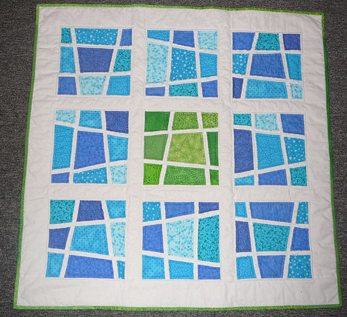 SLice and Dice Baby Quilt | by mini_milly04
