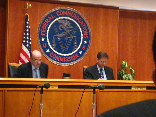 FCC Commissioners Copps, Martin | by tvol