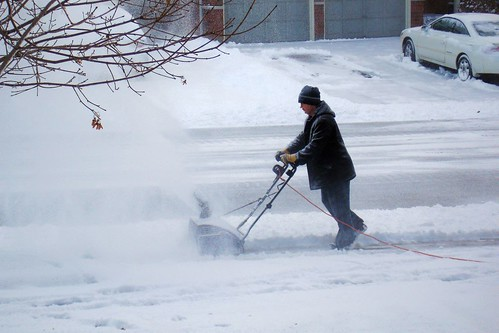 Snow Thrower | by SpareRoomQuilts
