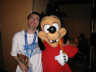 Me & Max at the Goofy's Kitchen Character Dinner in the Disneyland Hotel in Anaheim, CA | by Reto Kurmann