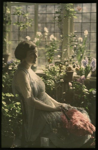 Woman in greenhouse | by George Eastman Museum