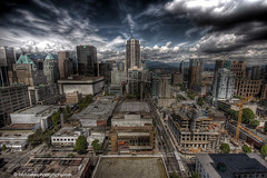vancouver city HDR | by bzphotog