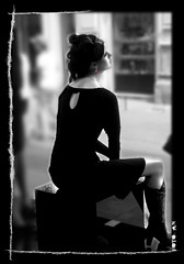 Sexy girl..Roxanne. A new life in black & white... | by Antonello Naitana