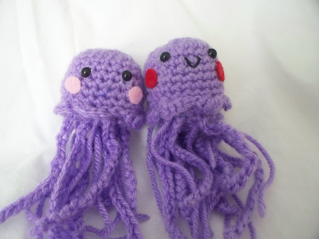 Amigurumi Jellyfish : Amigurumi jellyfish jellyfish made from ana paula rimoli su flickr