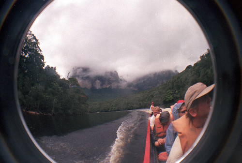 the boat on the way to angel falls | by olliethebastard