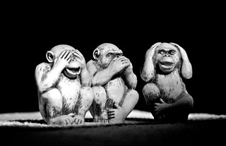 Three wise monkeys | by Anderson Mancini