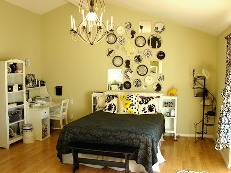 ... Black Yellow And White Bedroom | By The Sugar Monster