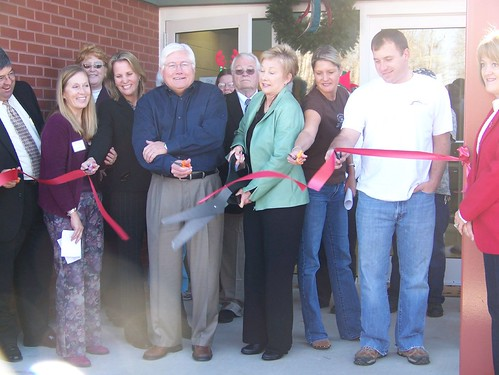 Ribbon Cutting | by newmanfoundation