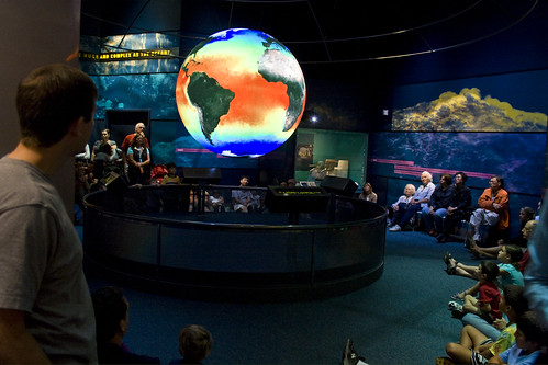 Science on a Sphere - Smithsonian Natural History | by woodleywonderworks