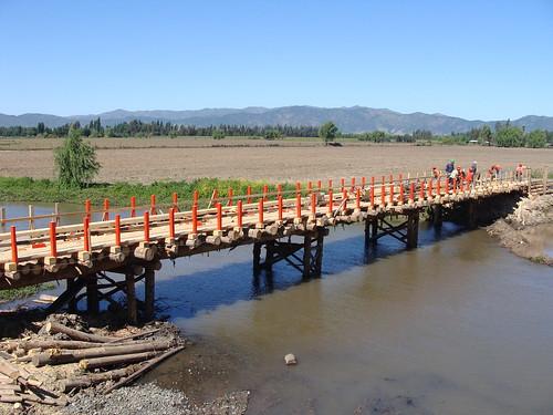 Puente Provisorio Los Cardos | Puente alternativo ... Ivanovich Ramirez Puente Photos