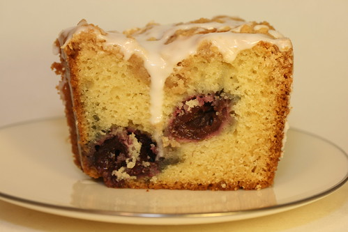 Cherry Coffee Cake | by Food Librarian