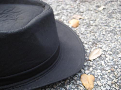 White Coat Black Shoes Hat Cadillac