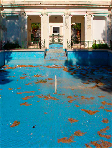 Swimming Pool Lecce Empty Swimming Pool Fred