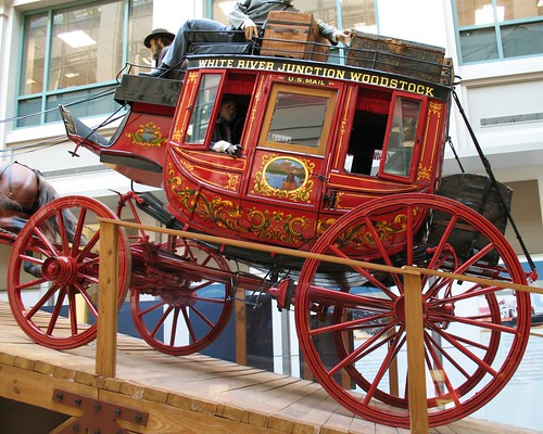 Stagecoach at Postal Museum | by Mr.TinDC