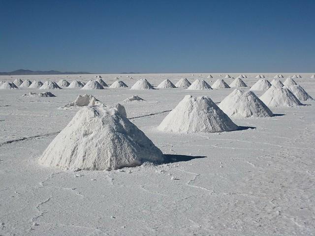 Salt mound!!!