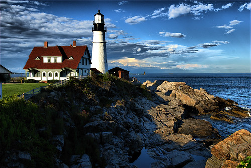 Portland Headlight Lighthouse | by GlenFa