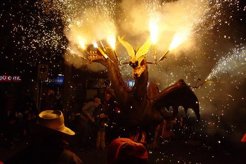 Correfoc de sant feliu de llobregat festes de tardor - Casas sant feliu de llobregat ...