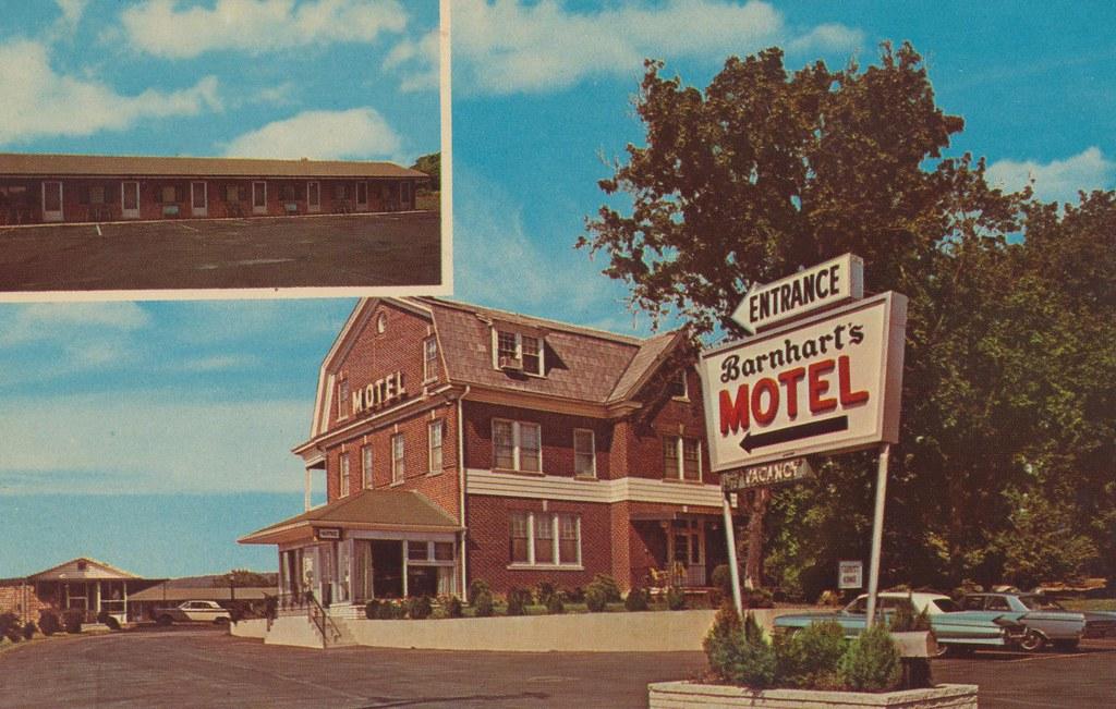 Barnhart's Motel - York, Pennsylvania