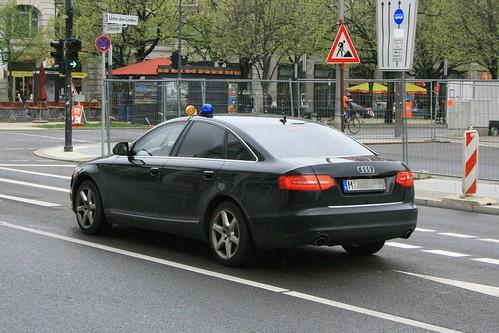 audi polizei zivil berlin war zu einem staatsbesuch in ber flickr. Black Bedroom Furniture Sets. Home Design Ideas